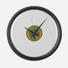 Paso Robles Police Large Wall Clock