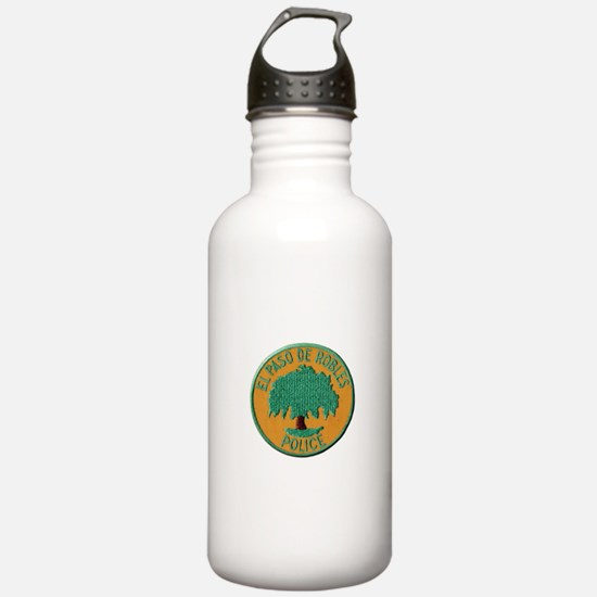Paso Robles Police Water Bottle