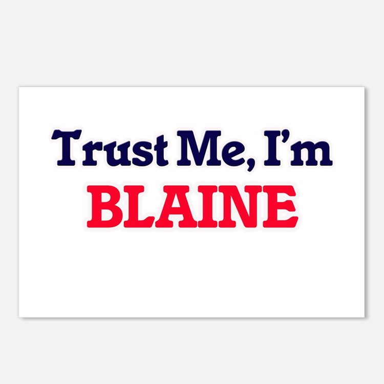 Trust Me, I'm Blaine Postcards (Package of 8)