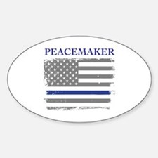 Funny Peacemaker Decal