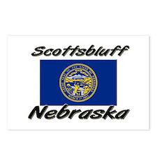 Scottsbluff Nebraska Postcards (Package of 8)