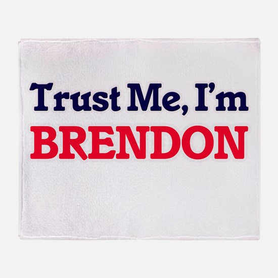 Trust Me, I'm Brendon Throw Blanket