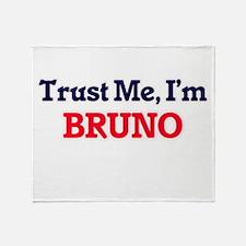 Trust Me, I'm Bruno Throw Blanket