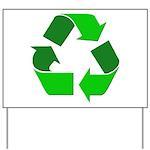 Recycle Environment Symbol Yard Sign