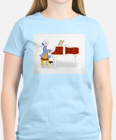 Mozart at the Pianoforte T-Shirt