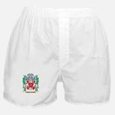 Mcgowan Coat of Arms - Family Crest Boxer Shorts