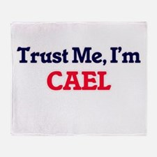 Trust Me, I'm Cael Throw Blanket