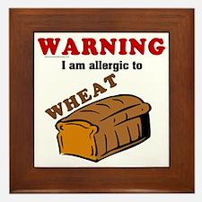 Wheat Allergy Framed Tile