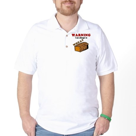 Wheat Allergy Golf Shirt