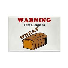 Wheat Allergy Rectangle Magnet