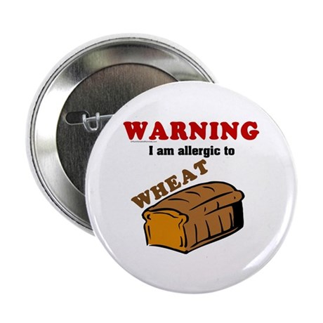 "Wheat Allergy 2.25"" Button"