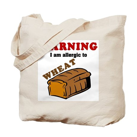 Wheat Allergy Tote Bag