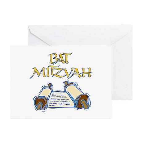 Bat Mitzvah Greeting Cards (Pk of 10)