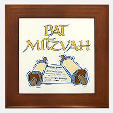 Bat Mitzvah Framed Tile