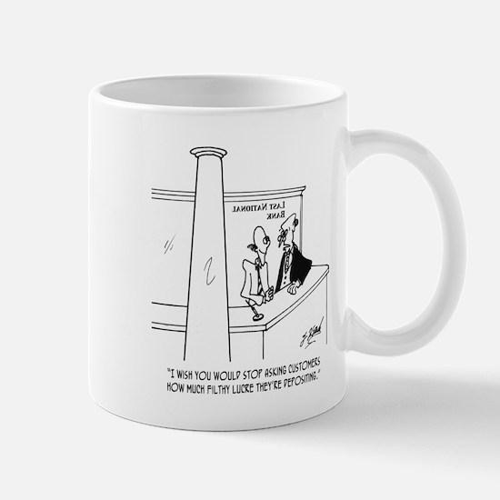 Bank Cartoon 3635 Mug