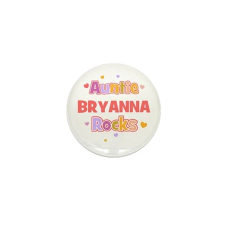 Bryanna Mini Button (10 pack)