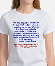 AMERICA IS NO LONGER GOVERNED BY LAW... T-Shirt