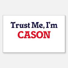 Trust Me, I'm Cason Decal