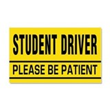 "Student driver 12"" x 20"""