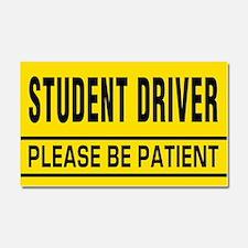 Student Driver Big Magnet Car Magnet 20 x 12