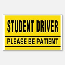 Student Driver Big Magnet Decal