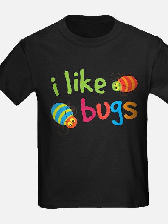 Kids bug t shirts shirts tees custom kids bug clothing for I like insects shirt
