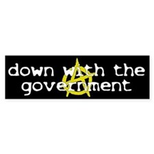 Anti-Gov't Bumper Bumper Sticker