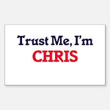 Trust Me, I'm Chris Decal