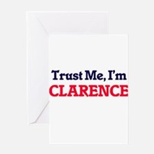 Trust Me, I'm Clarence Greeting Cards