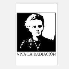 Marie Curie - Viva la Radiación Postcards (Package