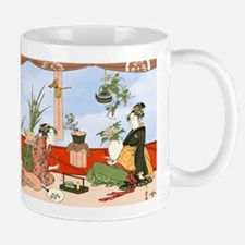 Tea Party Ceremony 18th Century Mugs