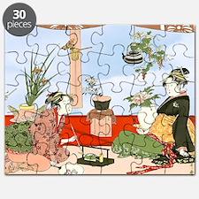 Tea Party Ceremony 18th Century Puzzle