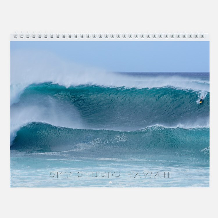 Pipeline Pro Biggest Day Wall Calendar