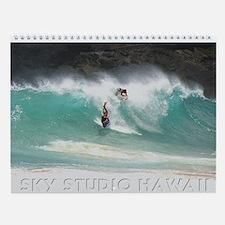 Hawaii Bodyboarders Wall Calendar