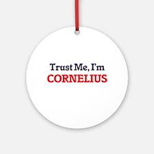 Trust Me, I'm Cornelius Round Ornament