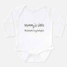 Mommy's Little Assistant Psychologist Body Suit