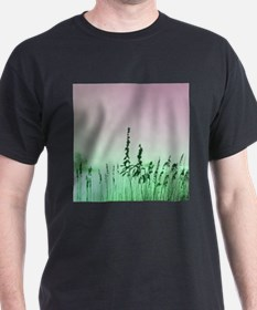 Sea oats pink and green T-Shirt