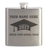 2017 graduation Flask Bottles