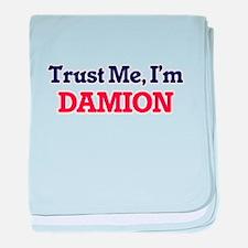 Trust Me, I'm Damion baby blanket