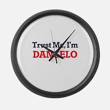 Trust Me, I'm Dangelo Large Wall Clock