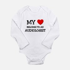 My Heart Belongs To An AUDIOLOGIST Body Suit