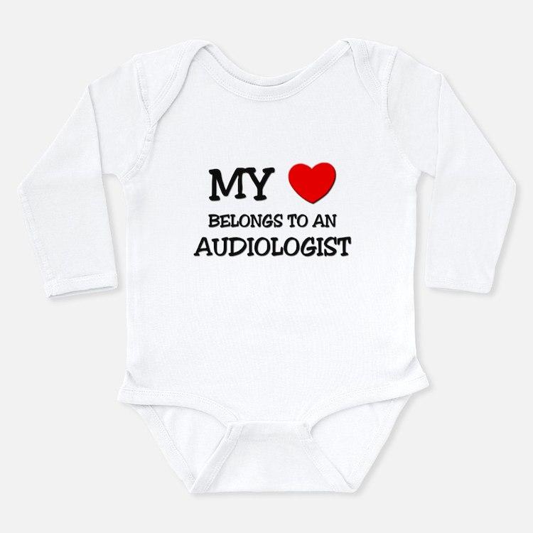 My Heart Belongs To An AUDIOLOGIST Body Suit