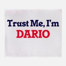 Trust Me, I'm Dario Throw Blanket