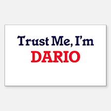 Trust Me, I'm Dario Decal