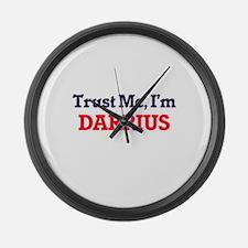 Trust Me, I'm Darrius Large Wall Clock