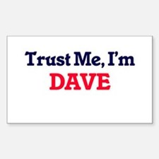 Trust Me, I'm Dave Decal