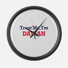 Trust Me, I'm Davian Large Wall Clock