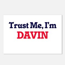 Trust Me, I'm Davin Postcards (Package of 8)