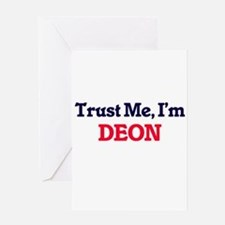 Trust Me, I'm Deon Greeting Cards