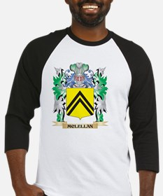 Mclellan Coat of Arms - Family Cre Baseball Jersey